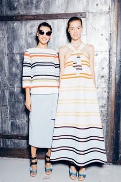 Suno Spring 2015 RTW – Backstage – Vogue