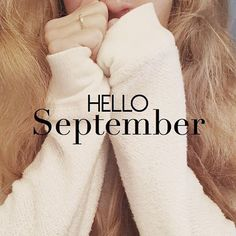 Good morning #September 1st! So ready for my favorite season but looking forward to these last few days of #summer! #autumn #helloseptember #septemberphotochallenge #exhibitpink #graphicdesign #cozy #ootd #quote