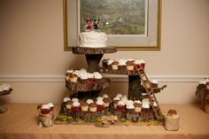 Swiss Family Robinson Cupcake House!