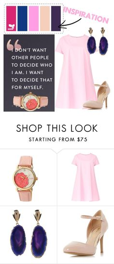 """Untitled #633"" by macykreilein ❤ liked on Polyvore featuring Emma Watson, Bertha, Maiocci, Valerie Nahmani Designs and Dorothy Perkins"