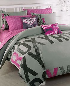 Would love to put this Roxy bedding in B's room!