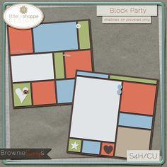 Block Party by Little Bit Shoppe Designs: $1.50 @ www.browniescraps.com