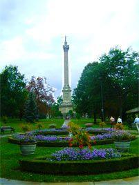 Brock Monument, Niagara Falls Ontario Canada