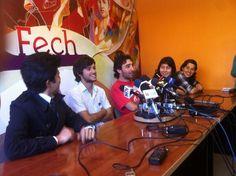 Estudiantes chilenos explicaron motivos de nueva movilización por educación gratuita y de calidad. (Foto: @RaulteleSUR)