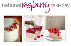 """National Raspberry Cake Day - July 19  National Raspberry Cake Day makes today as sweet as a summer day can be. Tender raspberries are among the best of fruits that nature has to offer. Put them into a cake......Then, you can """"have your fruit and eat it, too!""""  Raspberries are one of summers sweet, fruity treats. And, the harvest is going on right now. So, it's only appropriate that we enjoy a piece of raspberry cake in celebration of the harvest."""