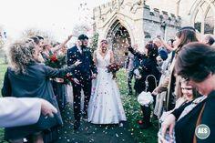 BLYTH WINTER WEDDING | APRIL & TOM | CONFETTI