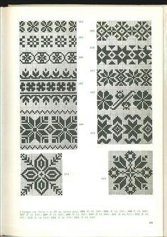Cimdu raksti - Rokdarbu grāmatas un dažādas shēmas Fair Isle Knitting Patterns, Knitting Charts, Knitting Stitches, Knitting Designs, Hand Knitting, Motif Fair Isle, Fair Isle Chart, Mittens Pattern, Knit Mittens