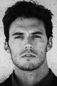 Sam Claflin is beautiful. Did I really just meet this guy?!?