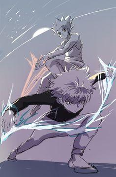 Killua And Gon / Hunter x Hunter / Killugon Hunter X Hunter, Hunter Anime, Monster Hunter, Killua, Hisoka, Leorio Hxh, Wallpaper Bonitos, Hxh Characters, Image Manga