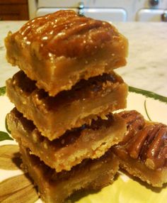 These Creole Pecan Praline Bars are addicting, delicious and, while I didn't find the recipe on a hand-written vintage card, are from a very old New Orleans recipe.