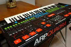 MATRIXSYNTH: Vintage Arp Quadra synthesizer