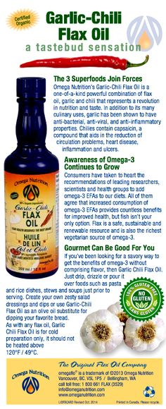 "Do you know that Omega-3 EFAs are essential for normal growth and development?  They lower ""bad"" cholesterol while raising ""good"" cholesterol, and much more!  To learn more about its benefits, click here and share! http://www.omeganutrition.com/ProductDetails.aspx?item_no=ELGCF012&CatId= To speak to one of our specialists, please call 1-800-661-3529"