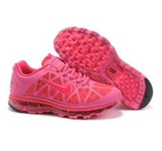 reputable site 13bcd a4d0c Nike Air Max 2011 Pink Black Women Running Shoes - I want these!