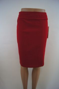 Red Tribal Skirt