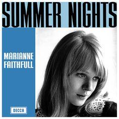 """Marianne Faithfull Summer Nights (Australian 7"""" 1965)"""