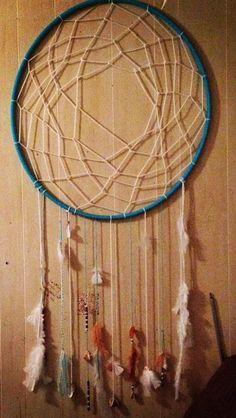 Hula hoop dreamcatcher ♥
