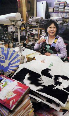 Rumiko Takahashi | Where Is Manga Created? Working Environemnts Of 10 Popular Japanese Mangaka