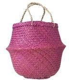 Bekijk prijs: http://goo.gl/T13ASE  Return to Sender mand uit Vietnam. De mand kan in- en uitgevouwen worden. Uitgevouwen heeft de mand handige hengsels.
