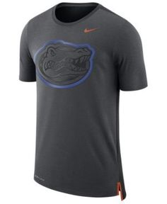 Nike Men's Florida Gators Meshback Travel T-Shirt - Silver XXL