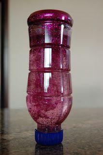 Sensory Glitter Bottle