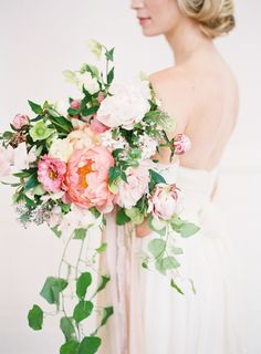 Grace Kelly: one name, two words, total elegance. Add in a team of talented vendors and you've got yourself absolute wedding day perfection. With The Wildflowers and the helm and Kayla Barker Fine Art Photography capturing every look from Brittany