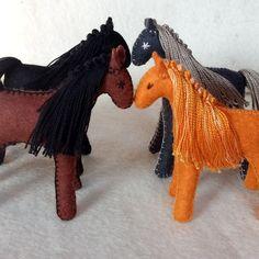 Horse Drawn Wagon, Felt Gifts, Natural Toys, Colorful Animals, Waldorf Toys, Felt Toys, Felt Art, Felt Animals, Toys For Girls