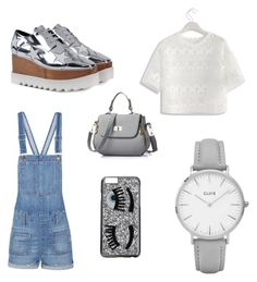 """Outfit para ir a una reunión de amigos"" by carolinagonzalez-v on Polyvore featuring moda, Chicwish, STELLA McCARTNEY, Madewell, Topshop y Chiara Ferragni"