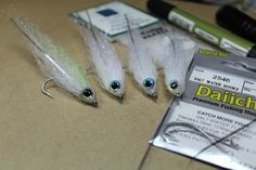 Yet another pattern to try. Have done well in the past with mostly white patterns for coho and cutthroat.