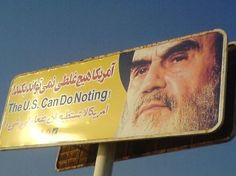 """""""The US can do nothing"""" -imam Khomeini r. Iranian, Names, Canning, People, Home Canning, People Illustration, Folk"""