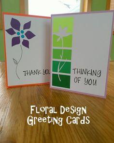 Greeting Card Series v2: Floral Design