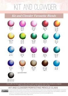Marco Raffine Color Pencil Chart By Emmajh97