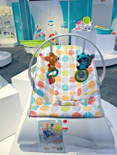 Fisher Price modern design incorporates playful characters!