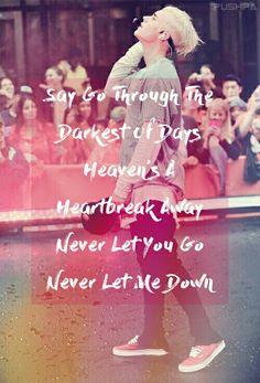 Justin Bieber - Let Me Love You Lyrics By Pushpa