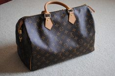 Louis Vuitton Speedy 35, via Flickr.