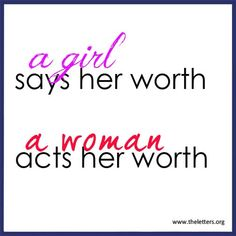 Girl and women quotes | www.theletters.org
