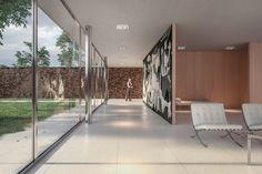 Casa Patio, Under Construction, Legends, Designers, Behance, Van, Spaces, Architecture, Interior