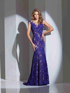 Wishesbridal Purple Zipper Back Prom Evening Dress