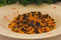 A2K - A Seasonal Veg Table: Curly Kale Paprika Risotto