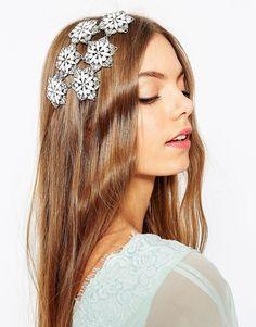 ASOS+Wedding+Embellished+Flower+Occasion+Hair+Clip
