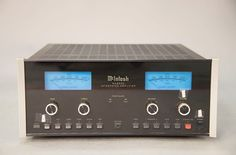 McIntosh MA6500 Integrated Amplifier, serial number RW2308, with remote and original user manual.