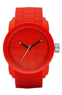 Diesel Silicone Strap Watch. Looking for a simple, stylish watch for working out.