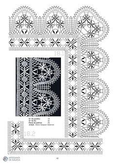 RAIZAME DO ENCAIXE GALEGO - Elena Corvini - Picasa Web Albums Bobbin Lace Patterns, Lace Making, Pattern Books, Album, Quilts, Beads, How To Make, Crafts, Arizona