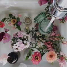 Read floral from the story that aesthetic crack by stoneydanes (Ellie) with reads. Plants Are Friends, No Rain, Landscape Illustration, Illustration Art, Flower Aesthetic, Spring Aesthetic, Arte Floral, Floral Lace, Pretty Flowers