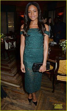 Naomie Harris - BAFTA Nominee Dinner in London.  (February 14, 2014)