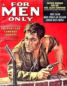 Adventure Magazine Male Magazine Book Posters Pulp Art Pulp Fiction Vintage