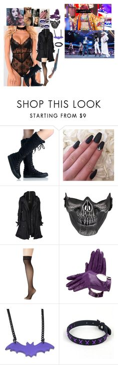 """""""❣️ D'Janette Dahlia ❣️- Luck? I Don't Need Luck"""" by iron-maiden-amy ❤ liked on Polyvore featuring Velvetine, AllSaints, Betsey Johnson, WWE, NXT, wweoc and nxtoc"""