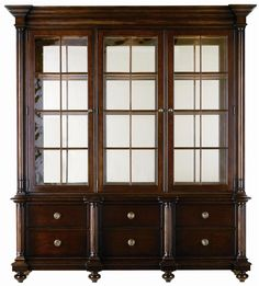 City Club Trophy Case By Stanley Furniture