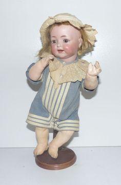 Simon & Halbig, 122 K&R, Puppe, Matrosenkleid, Schlafaugen, Mohair, 34,0 cm  | eBay