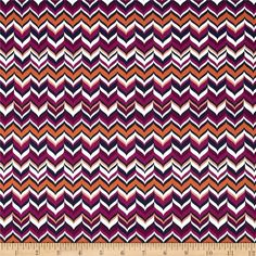 Michael Miller Rustique Featherins Plum from @fabricdotcom%0A%0ADesigned by Emily Herrick for Michael Miller, this cotton print is perfect for quilting, apparel and home decor accents.  Colors include white, navy, shades of orange and shades of plum.