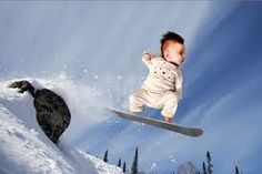 Godbold Robinson Sprangers Shorts (Ilana Wiles) had some fun with her baby Harlow and photoshop. Cute Kids, Cute Babies, Cute Baby Photos, Make Em Laugh, I Love Snow, Oogie Boogie, How To Make Snow, Snow Angels, Longboarding